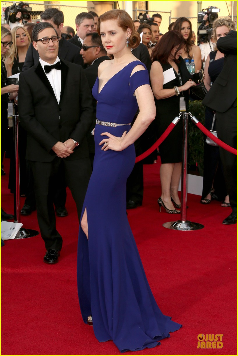 amy adams sag awards 2014 red carpet 04