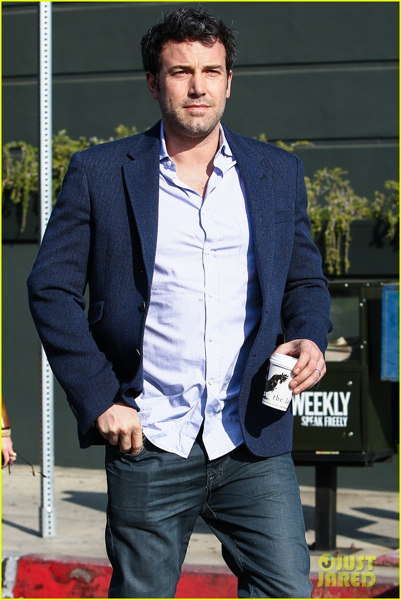 ben affleck steps out after joking about his big dick 18