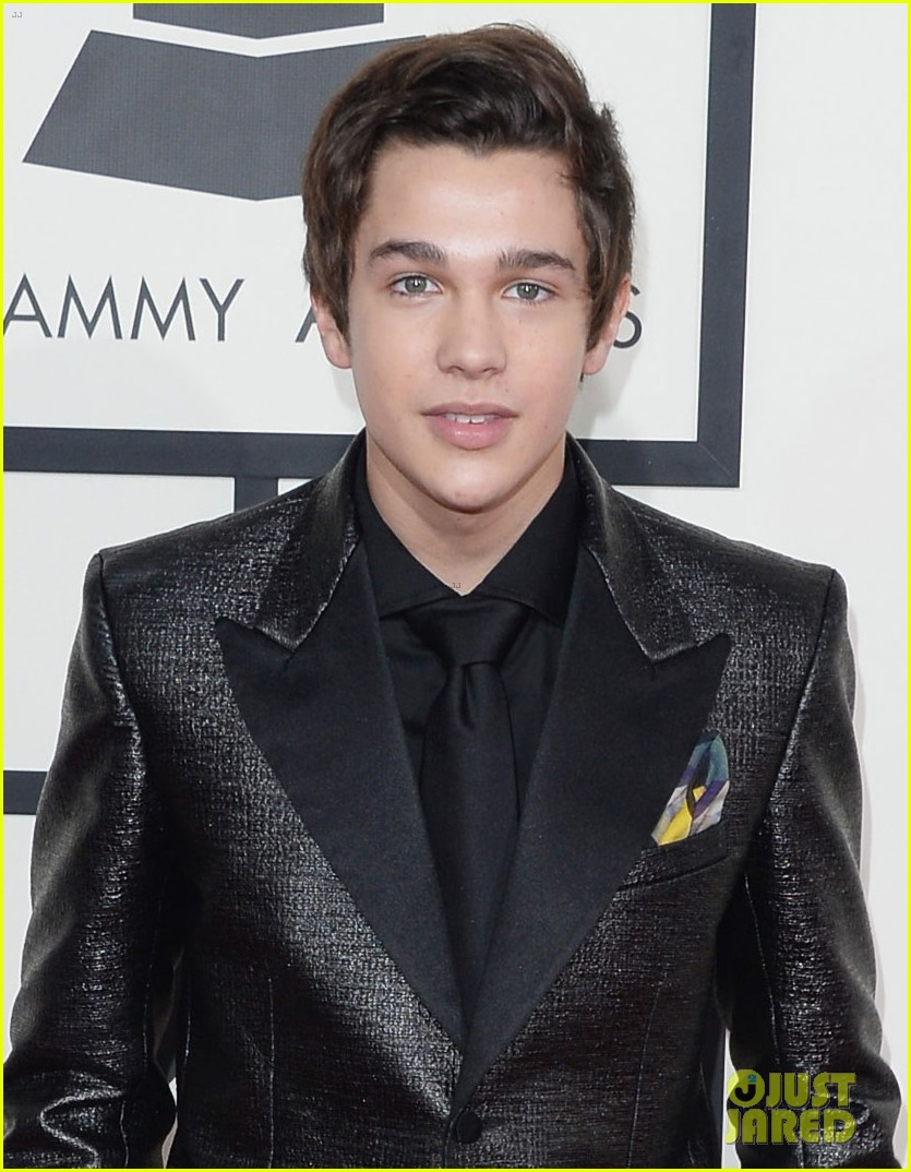 austin mahone grammys 2014 red carpet 05