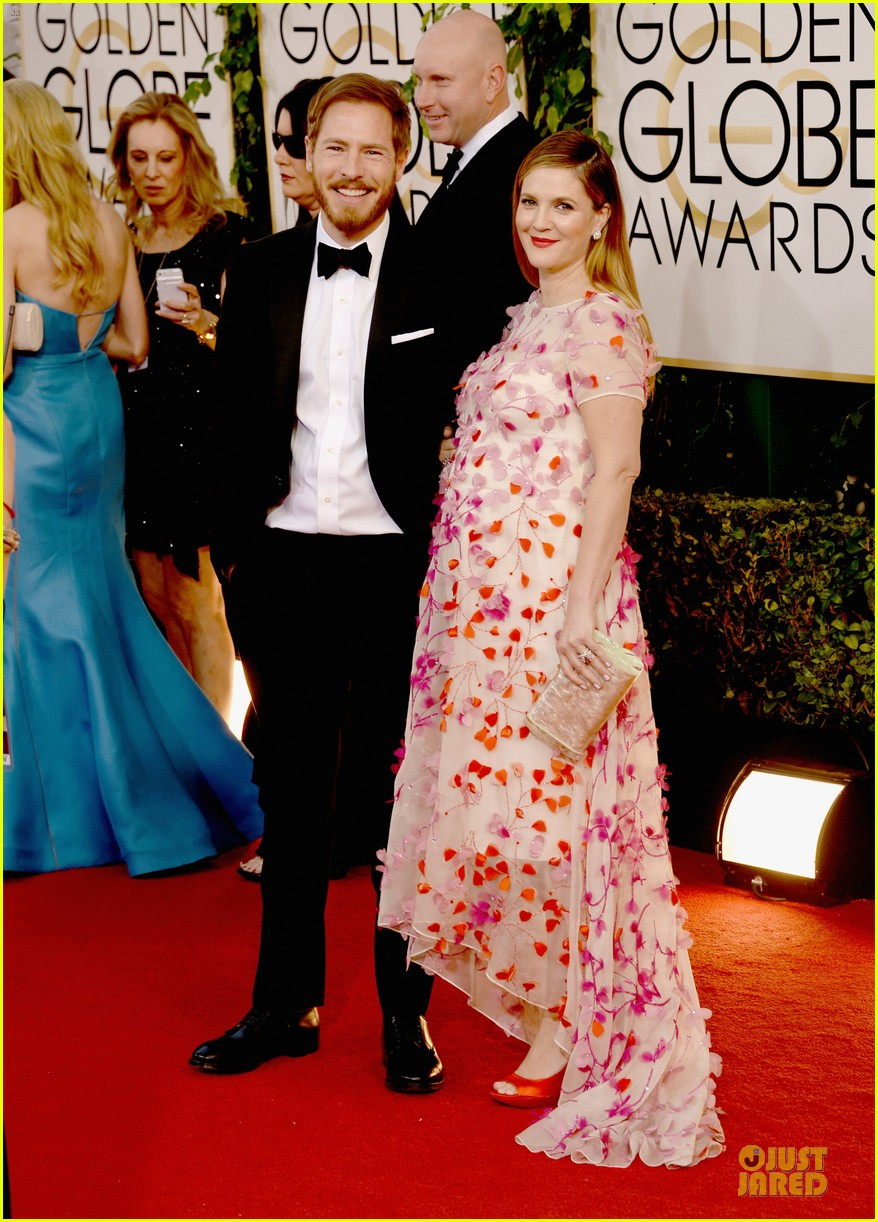 drew barrymore will kopelman golden globes 2014 033029363
