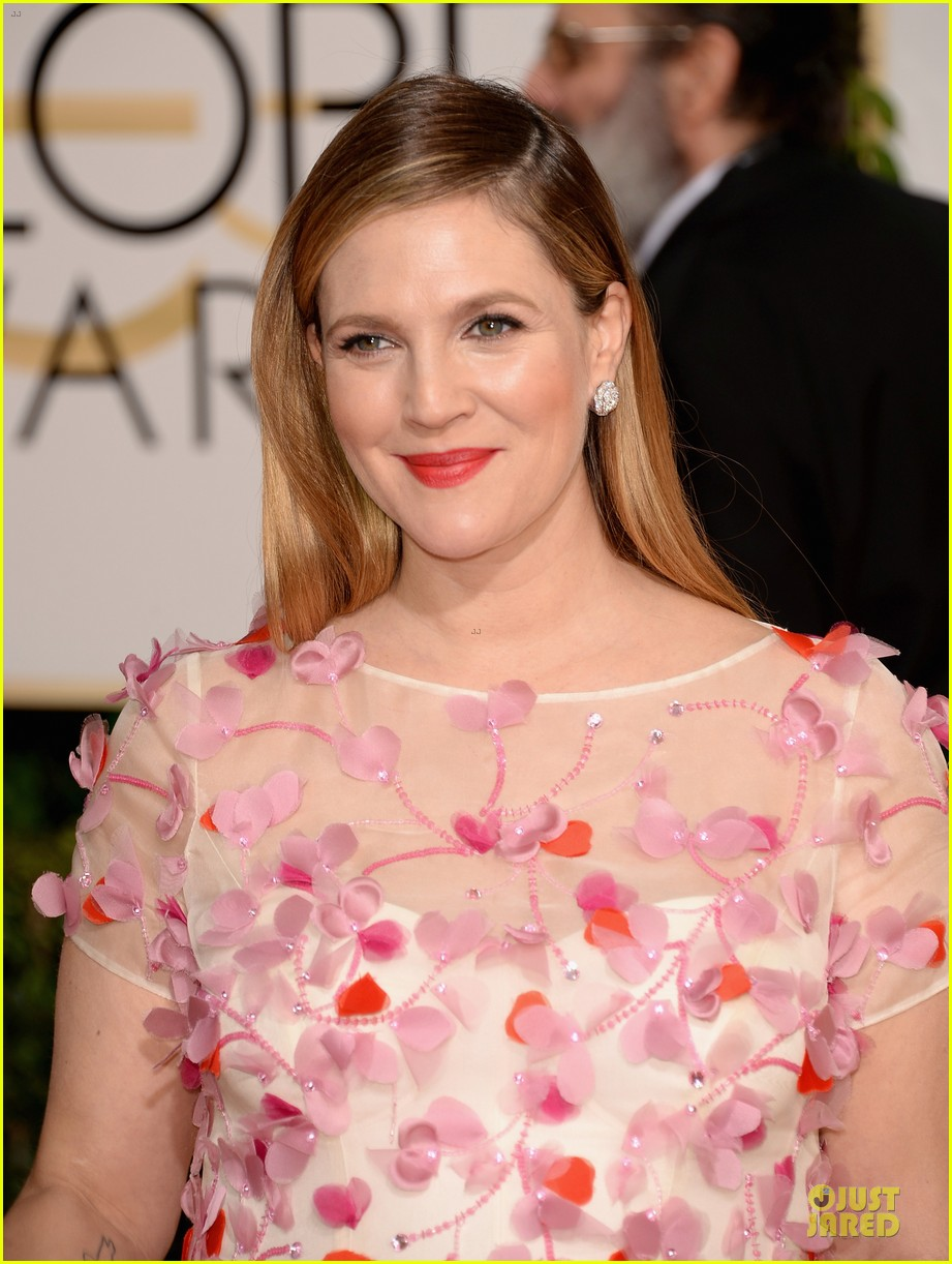 drew barrymore will kopelman golden globes 2014 043029364