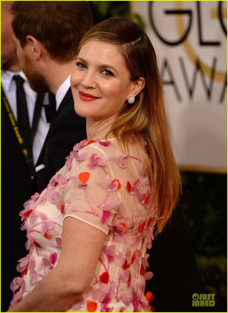 drew barrymore will kopelman golden globes 2014 12