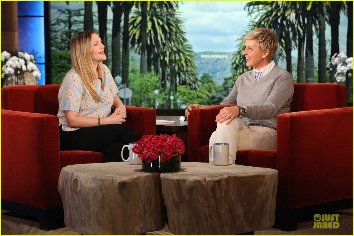 drew barrymore talks pregnancy weight on ellen 243031530