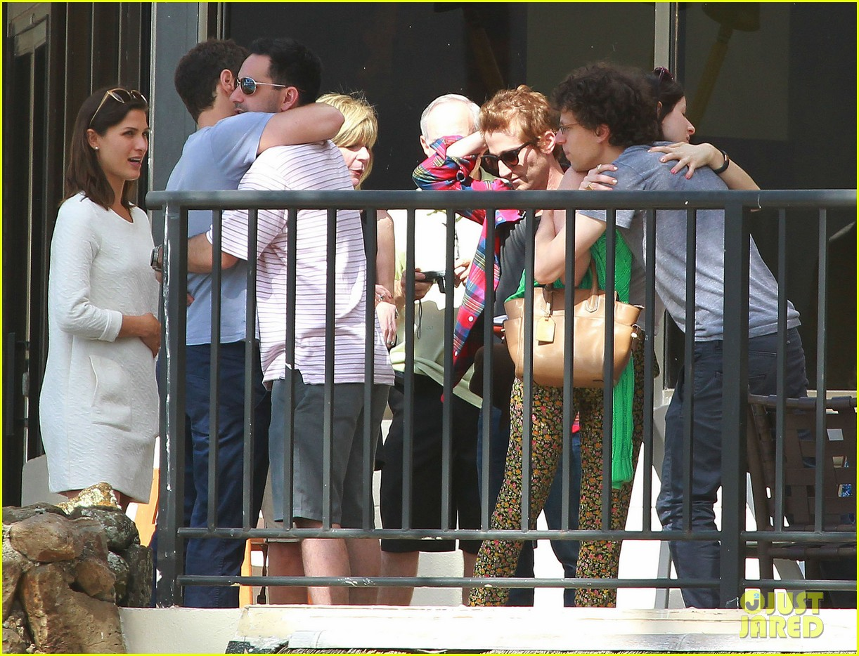 justin bartha new wife lia smith relax after wedding 123023905