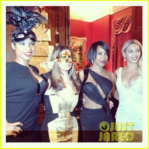 beyonce jay z celebrate mom tinas birthday 09
