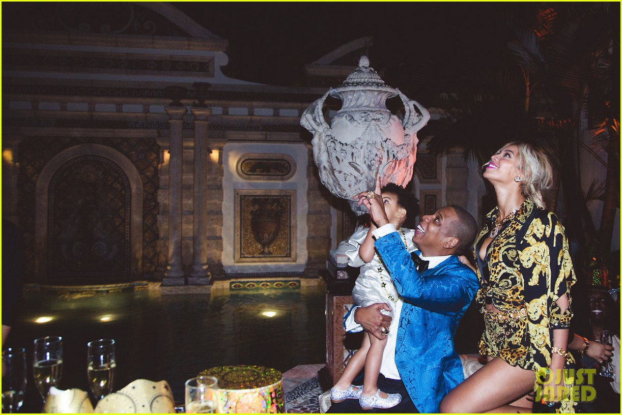 beyonce shares pictures from blue ivy carters birthday party 12