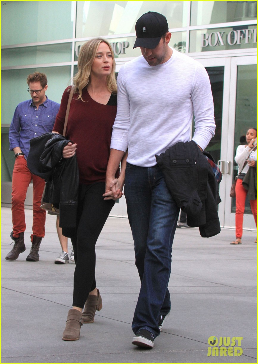 emily blunt john krasinski catch up on their movies 10