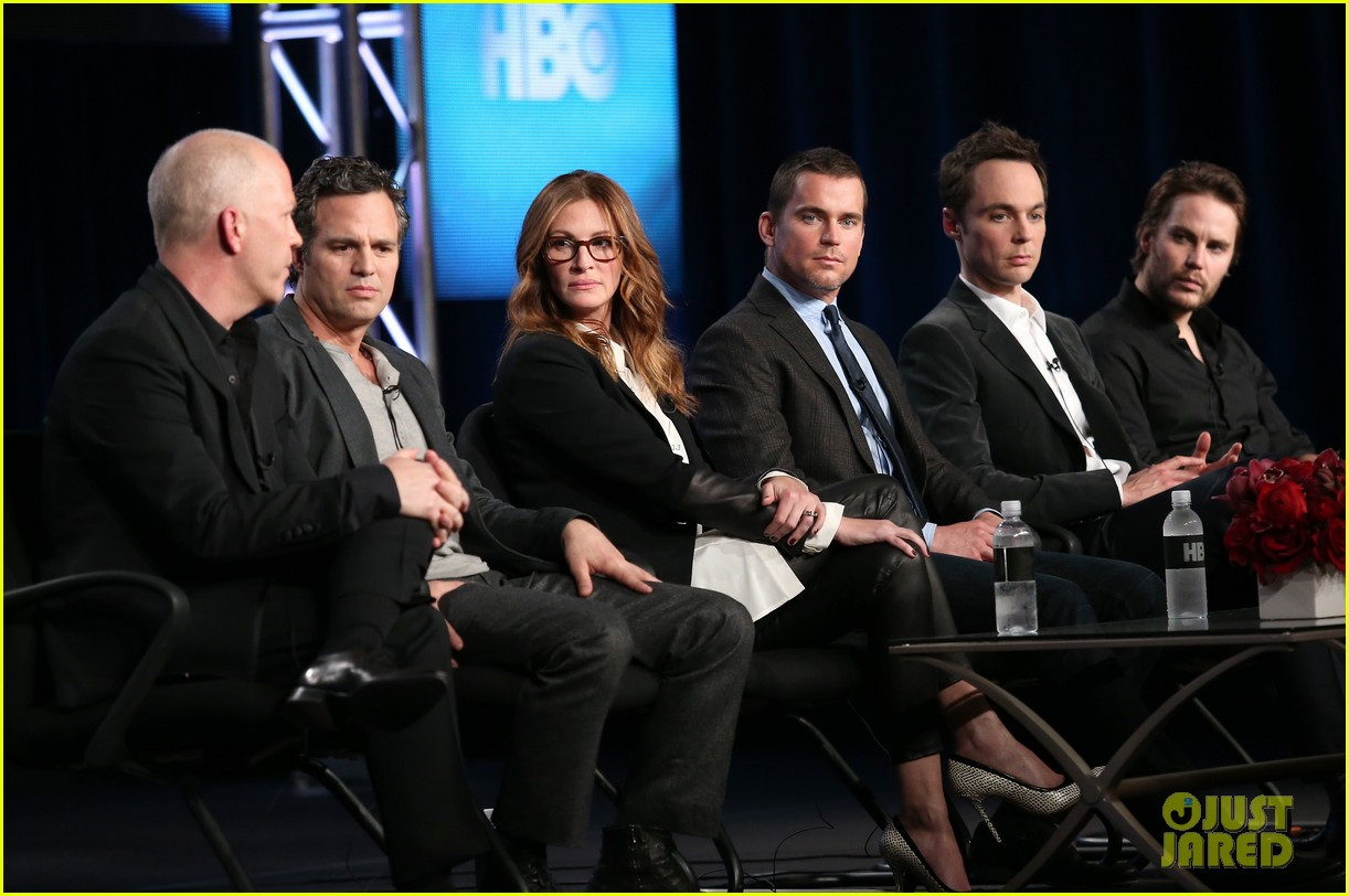 matt bomer debuts new buzz cut at normal heart tca panel 013026539