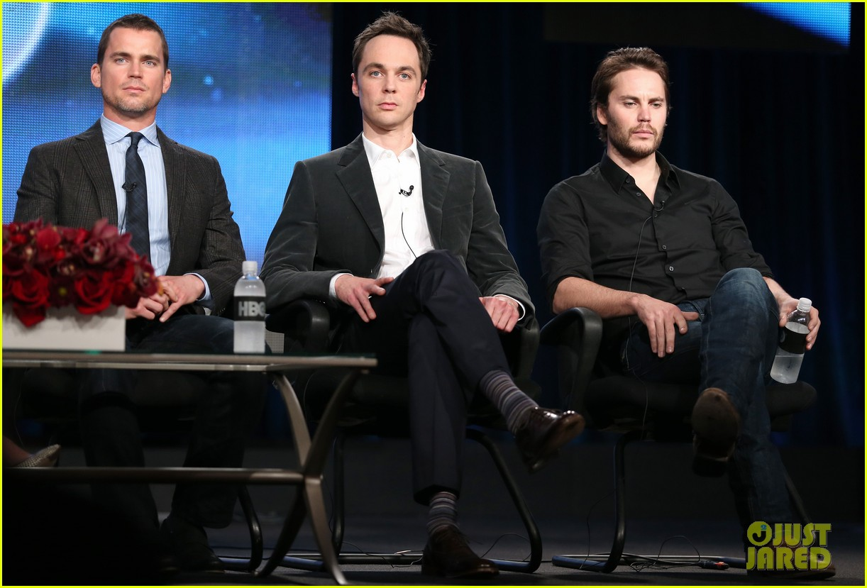 matt bomer debuts new buzz cut at normal heart tca panel 153026553