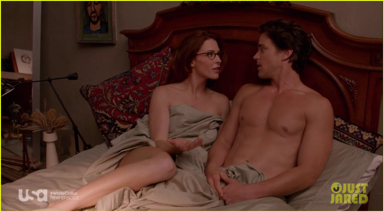 matt bomer shirtless sexy in recent white collar episode 03