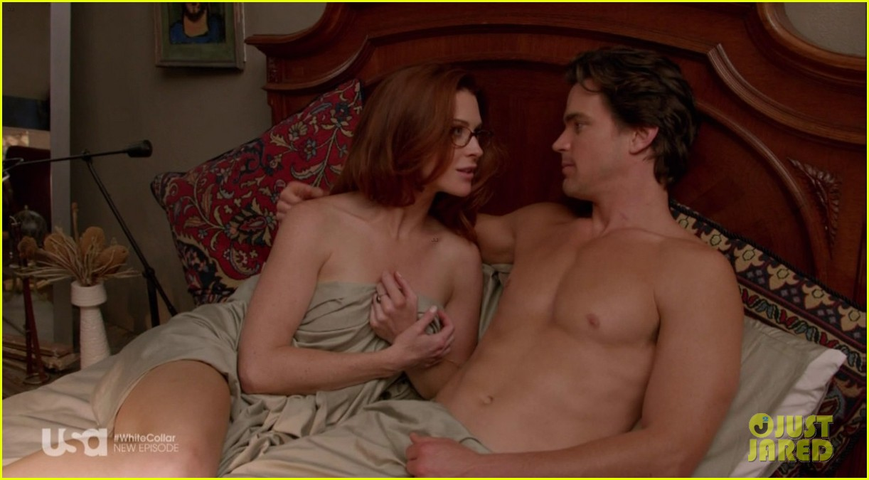 matt bomer shirtless sexy in recent white collar episode 123022943