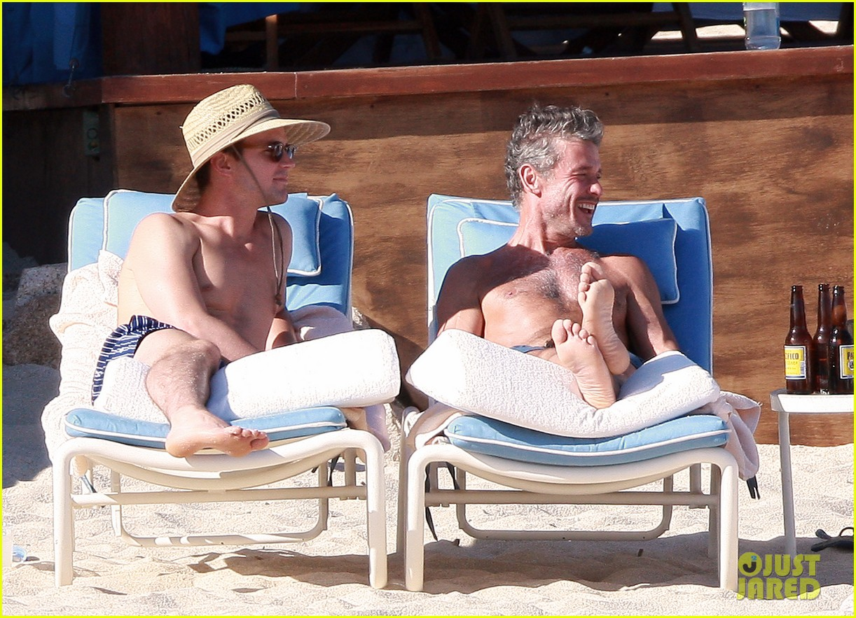 matt bomer shirtless sexy cabo vacation with simon halls 213035182