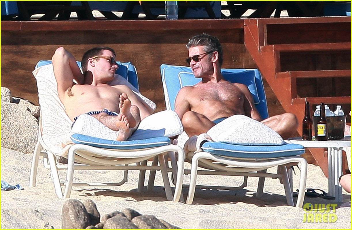 matt bomer shirtless sexy cabo vacation with simon halls 233035184
