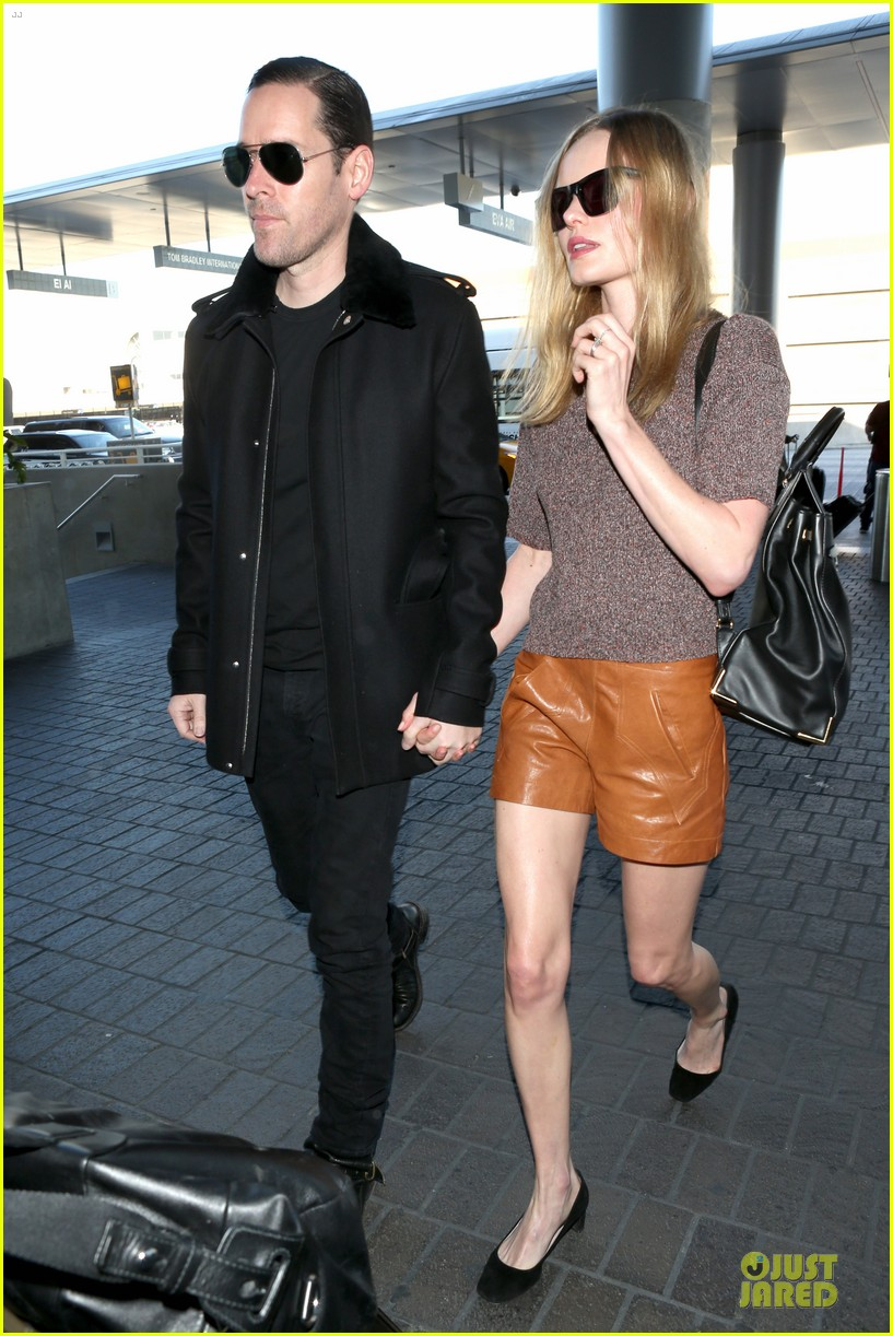 kate bosworth michael polish hold hands for france getaway 01