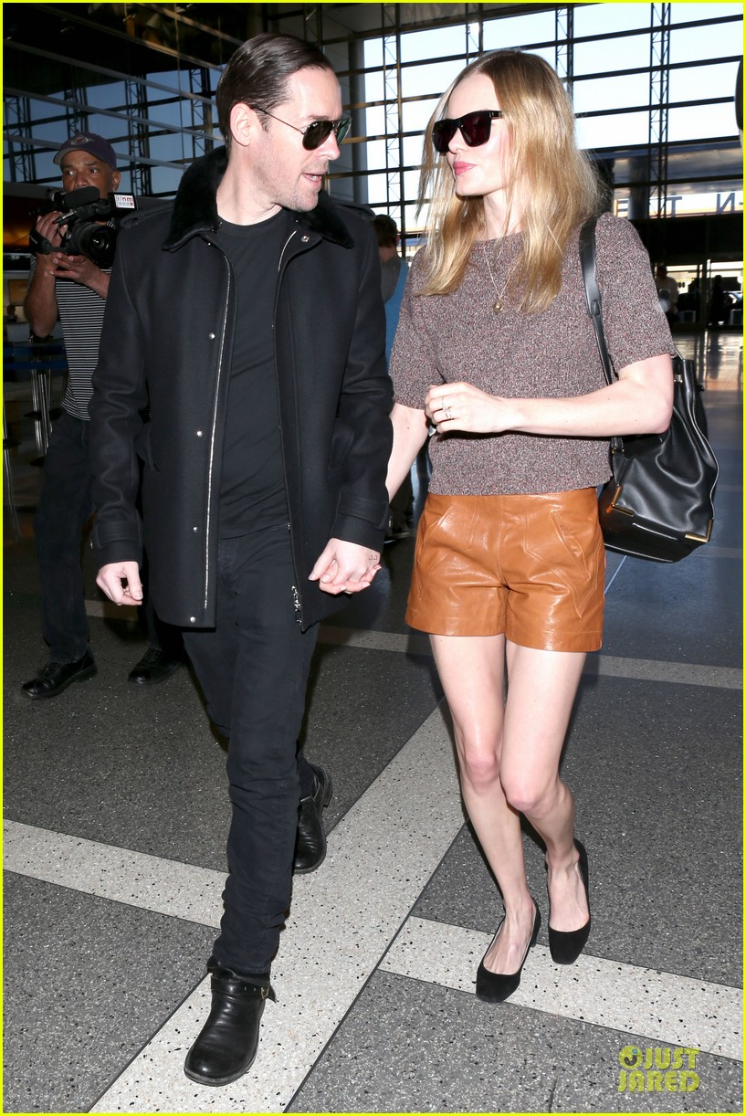 kate bosworth michael polish hold hands for france getaway 18