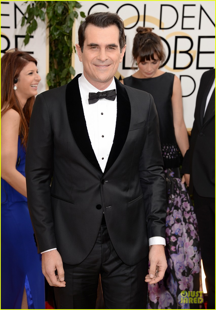 ty burrell ed oneill golden globes 2014 red carpet 123029786