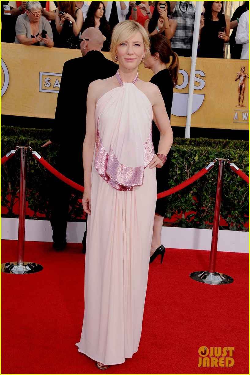 cate blanchett sag awards 2014 red carpet 02