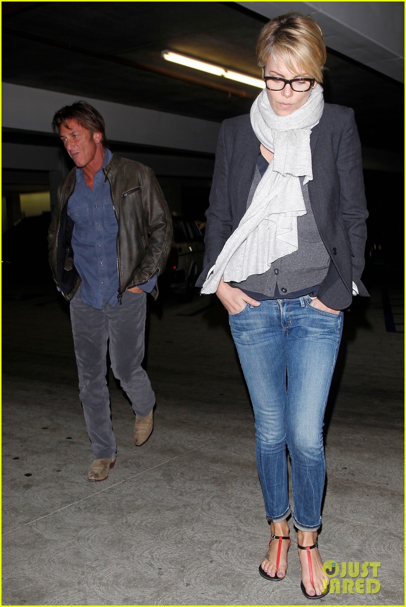 charlize theron sean penn movie date night 07