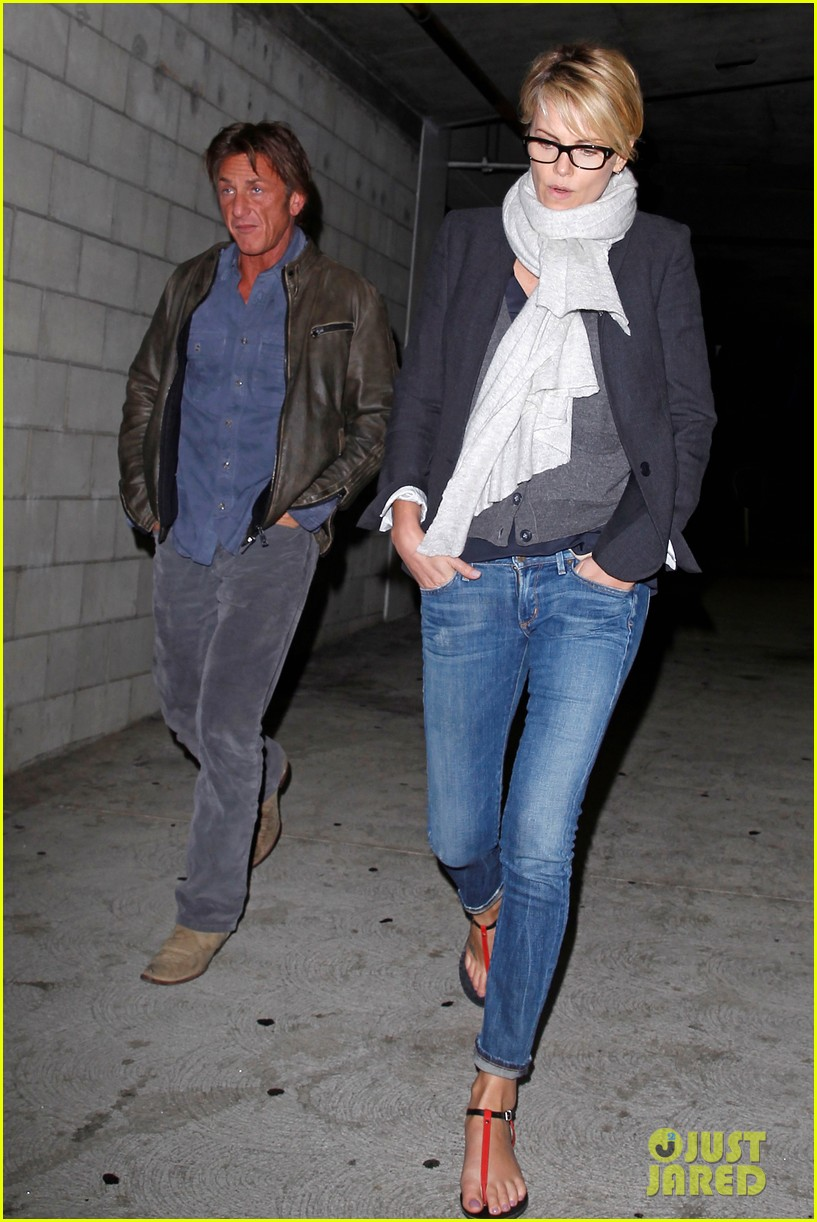 charlize theron sean penn movie date night 183024577