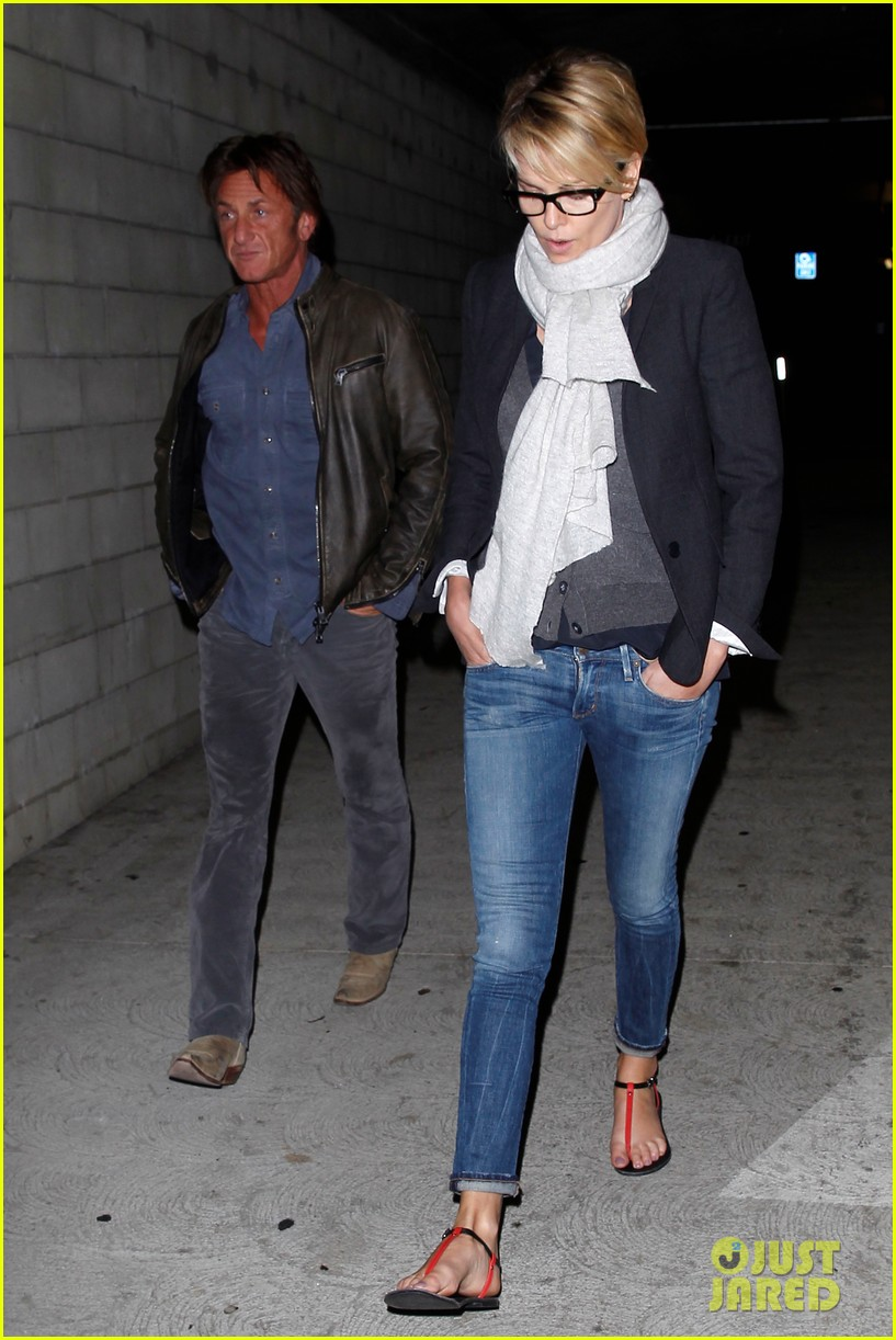 charlize theron sean penn movie date night 283024587