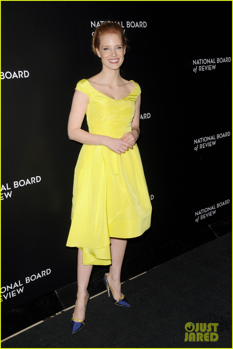 jessica chastain national board of review awards gala 2014 12