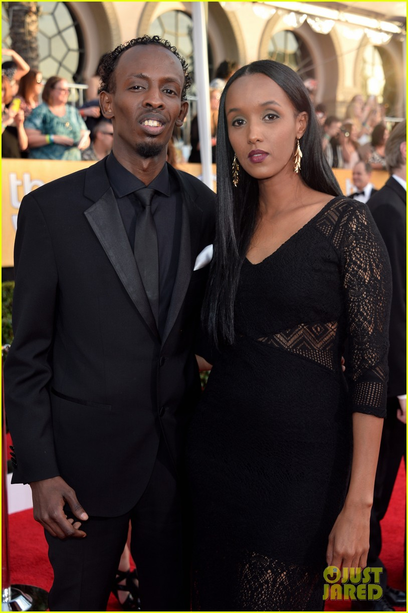 chiwetel ejiofor barkhad abdi sag awards 2014 red carpet 08