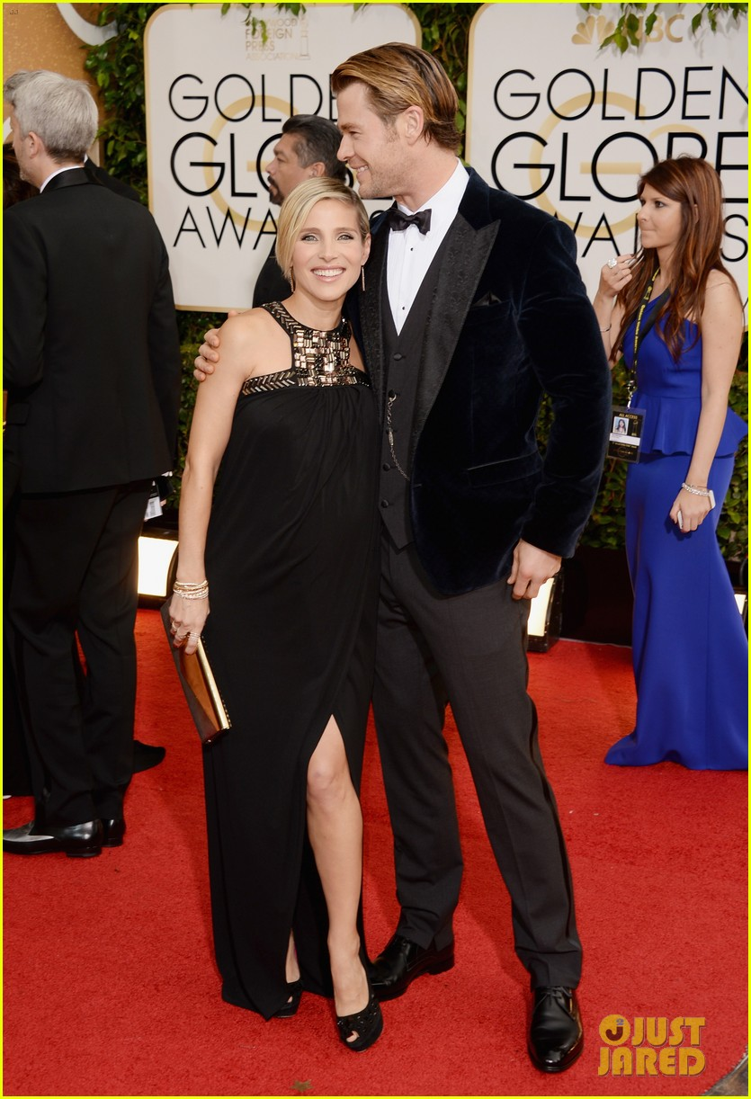 chris hemsworth elsa pataky golden globes 2014 red carpet 03