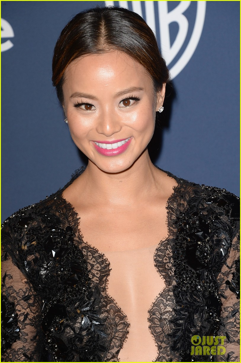 jamie chung bryan greenberg instyle golden globes party 2014 08