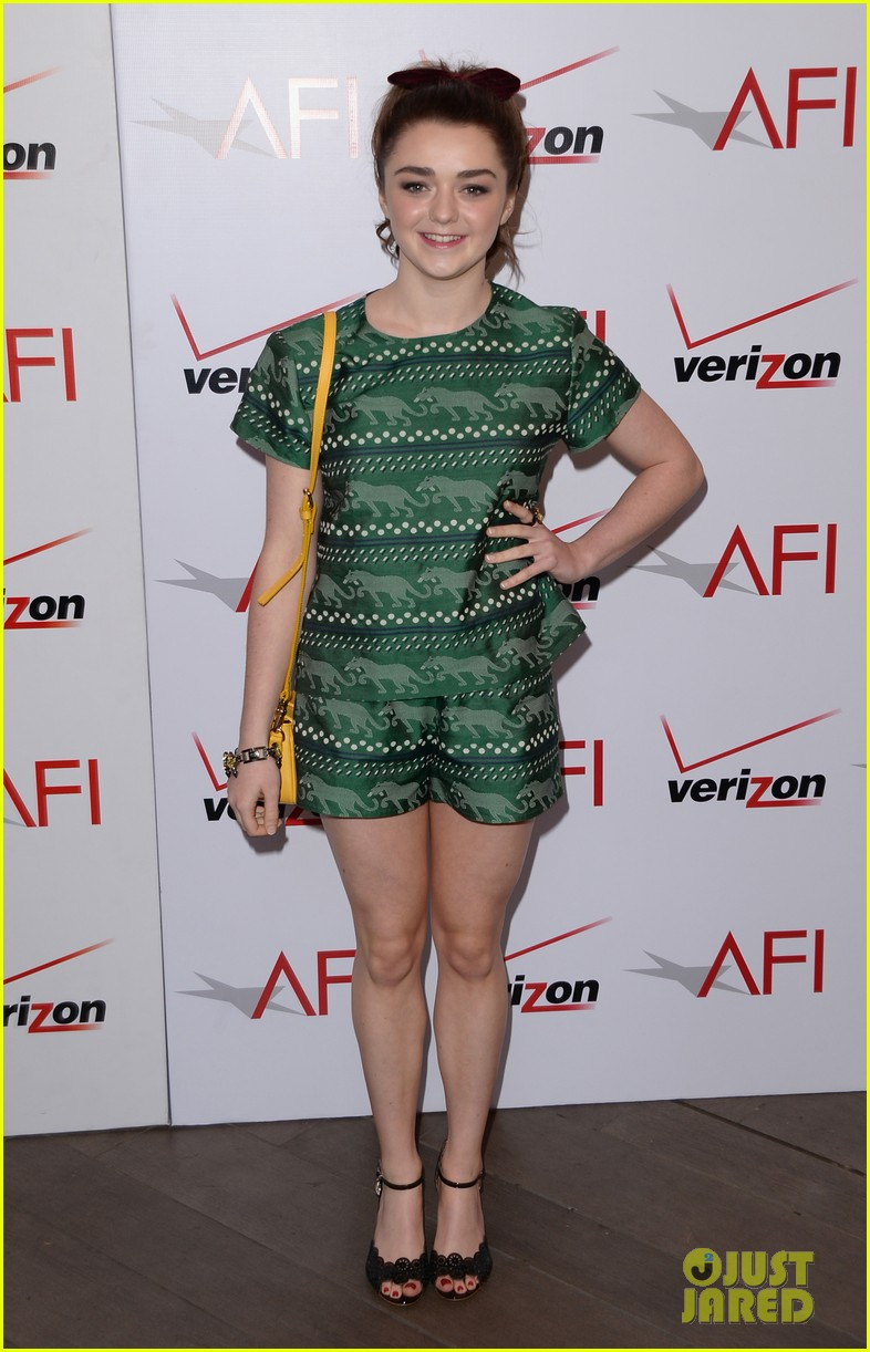 emilia clarke maisie williams afi film festival luncheon 2014 053027211