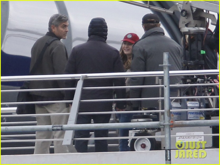 george clooney begins filming tomorrowland in spain 16