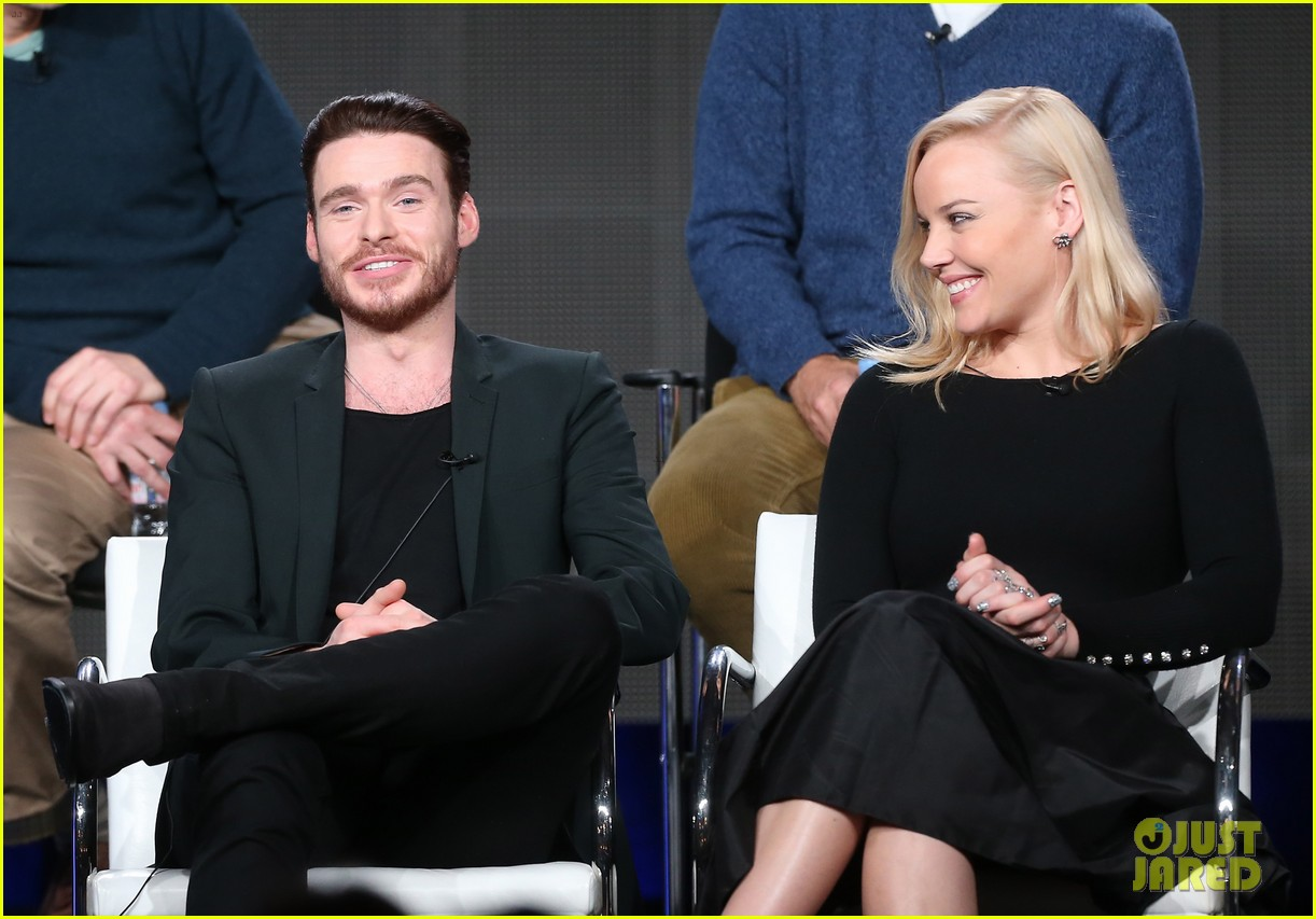 abbie cornish richard madden klondike tca panel 08