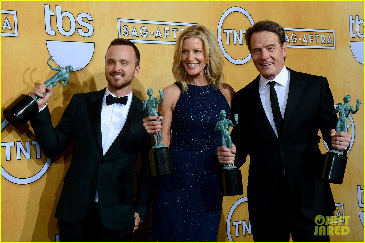 aaron paul bryan cranston sag awards 2014 113034877