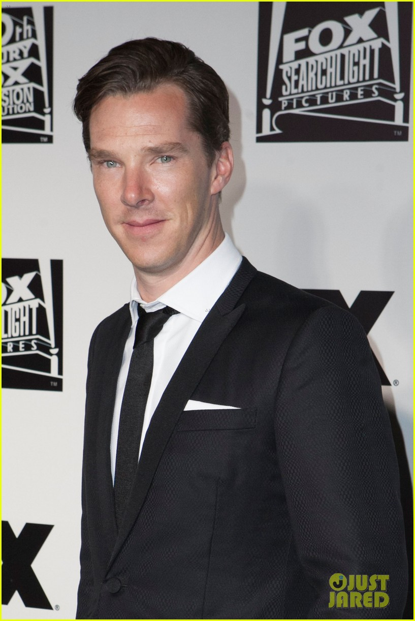 benedict cumberbatch fox golden globes party 2014 03