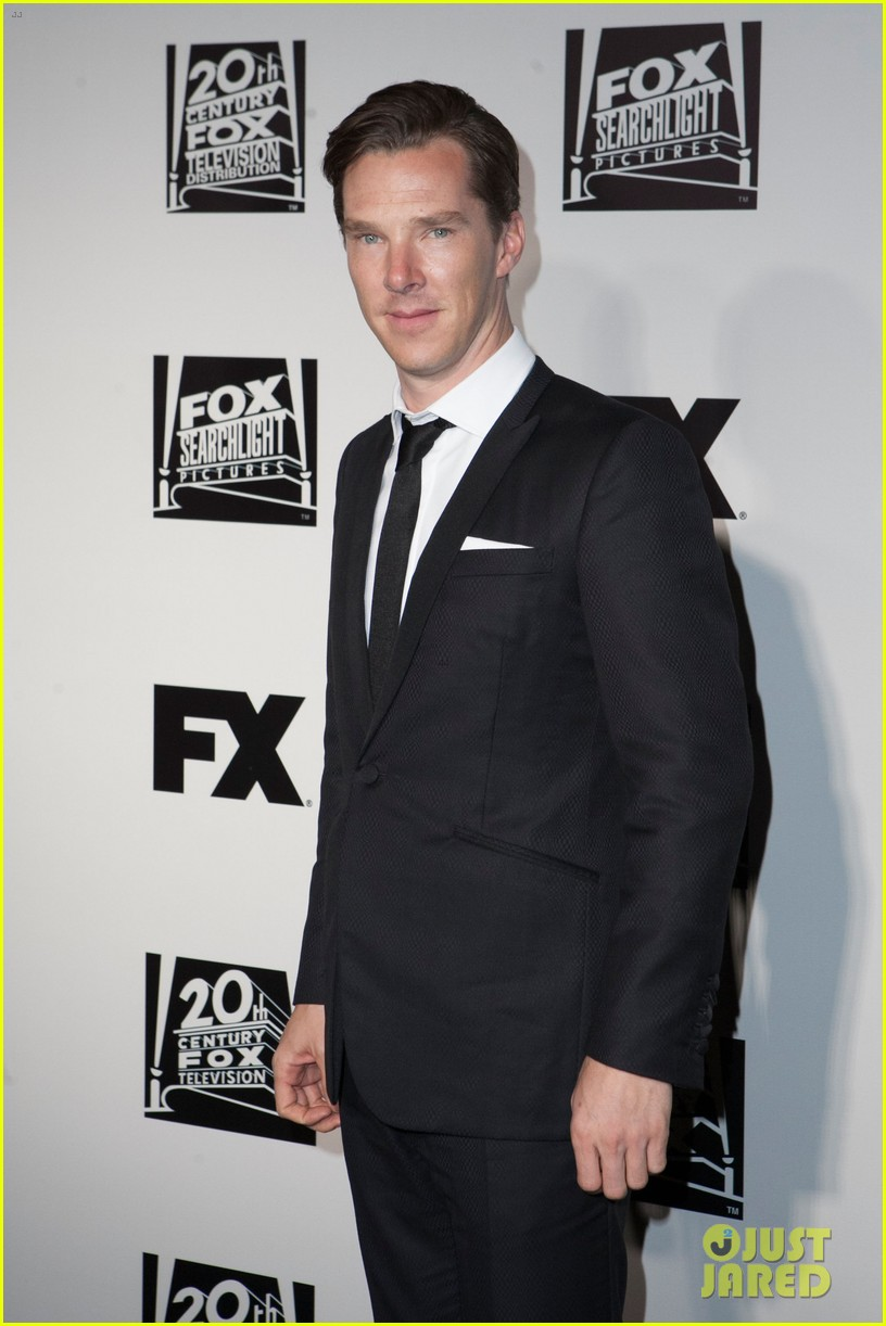 benedict cumberbatch fox golden globes party 2014 103030233