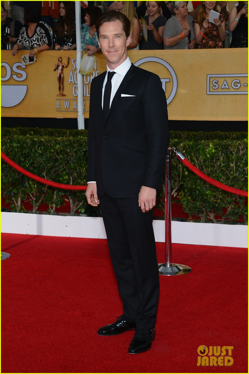 benedict cumberbatch sag awards 2014 red carpet 01