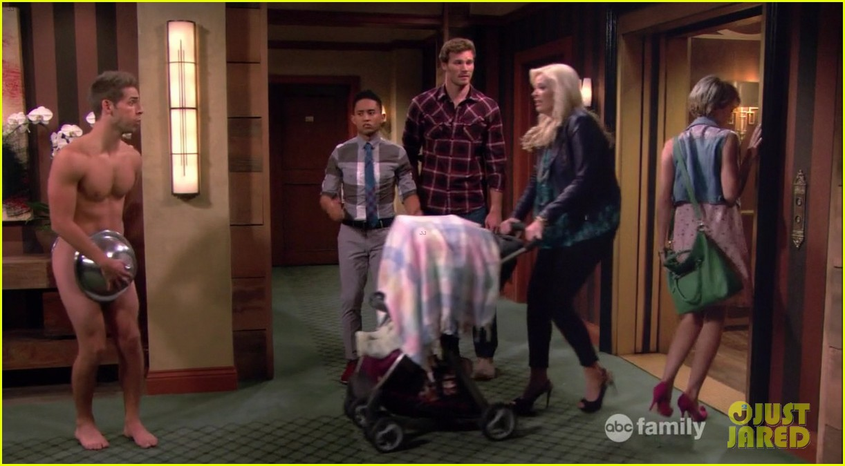 matt dallas goes shirtless on baby daddy 23
