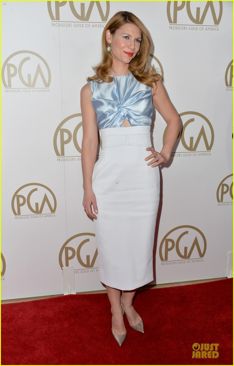 claire danes hugh darcy producers guild awards 2014 03