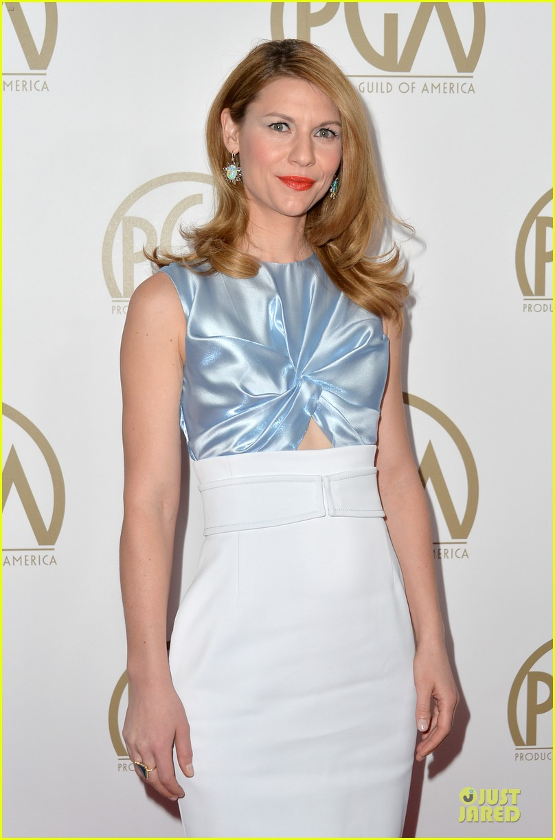 claire danes hugh darcy producers guild awards 2014 04