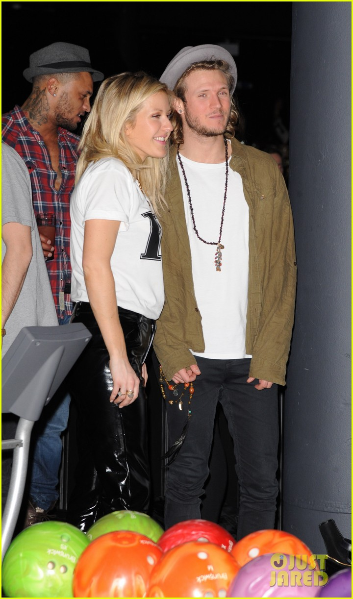 cara delevingne ellie goulding brooklyn bowl launch party 02