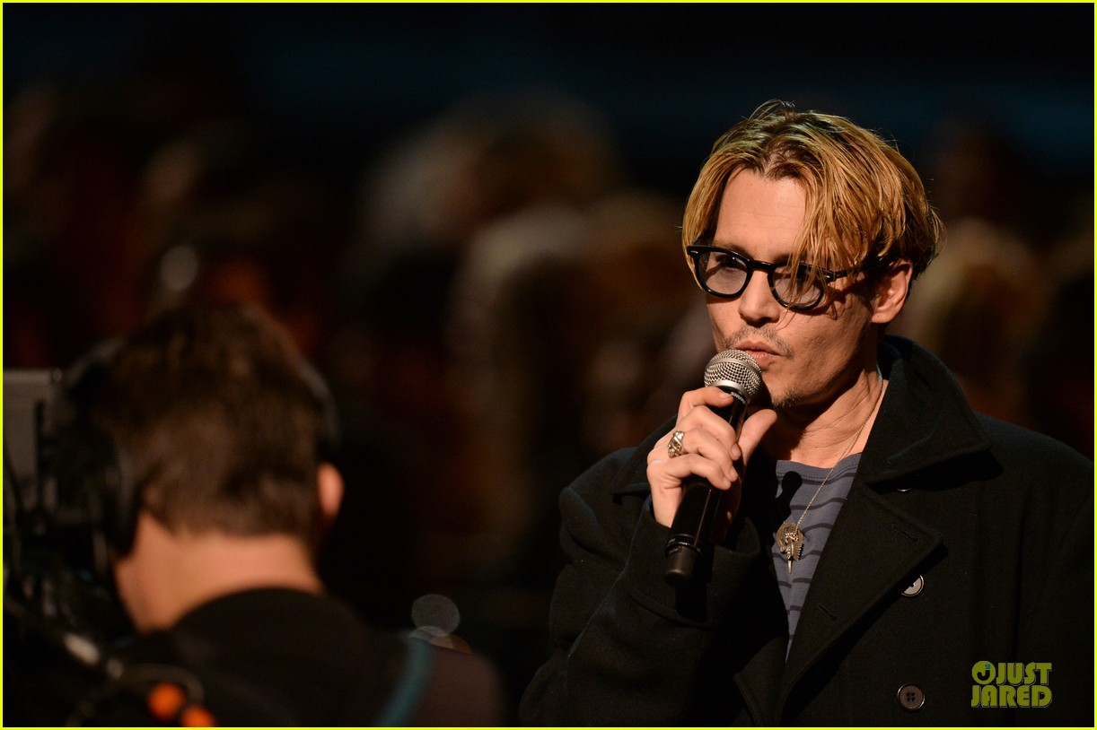 johnny depp sean penn beatles tribute presenters 14
