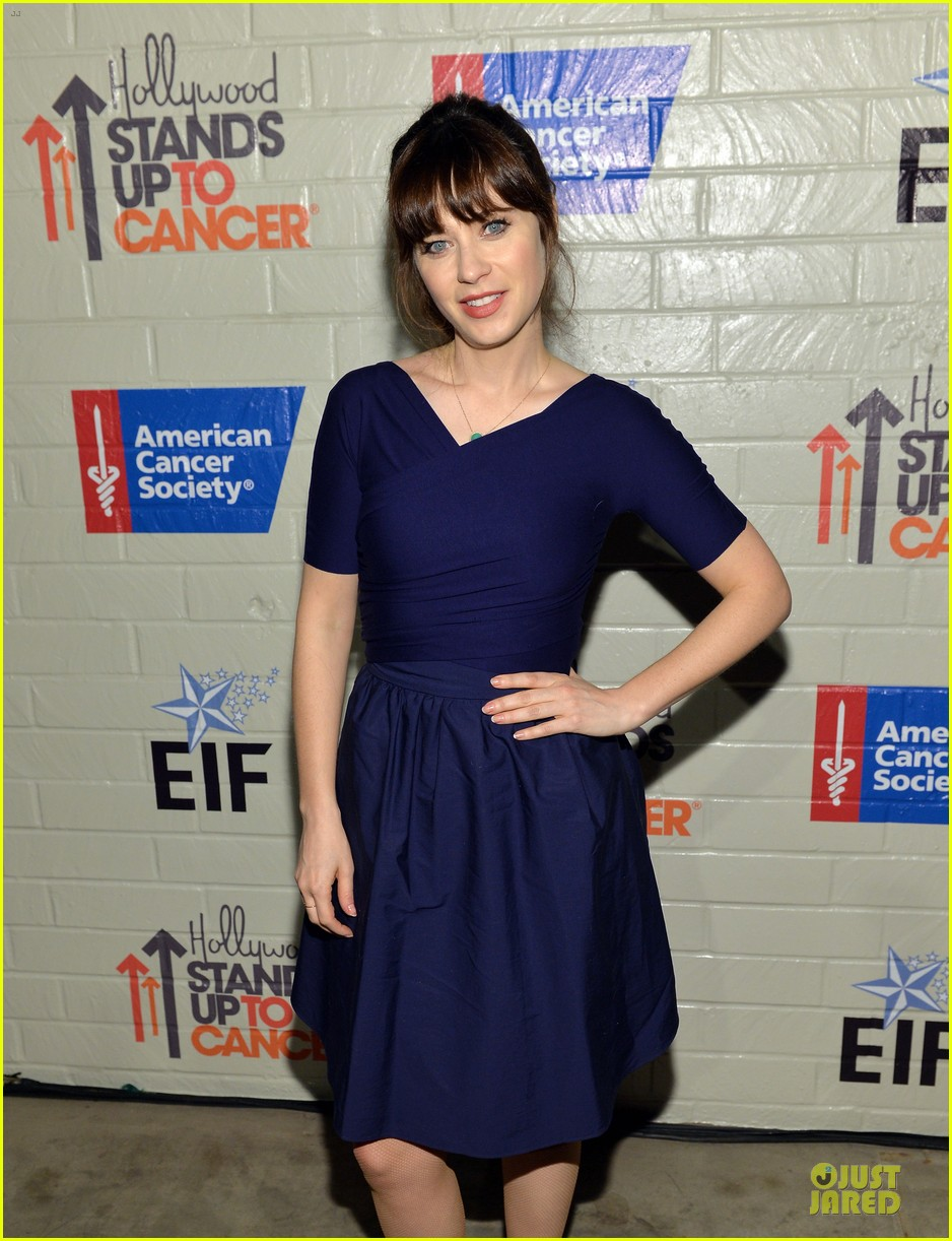 zooey deschanel heidi klum stand up to cancer 07