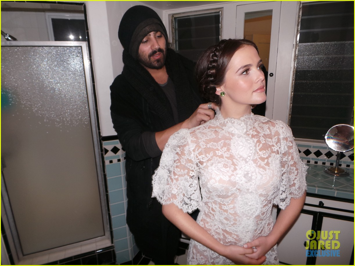 zoey deutch jj spotlight of the week behind the scenes pics 183037126
