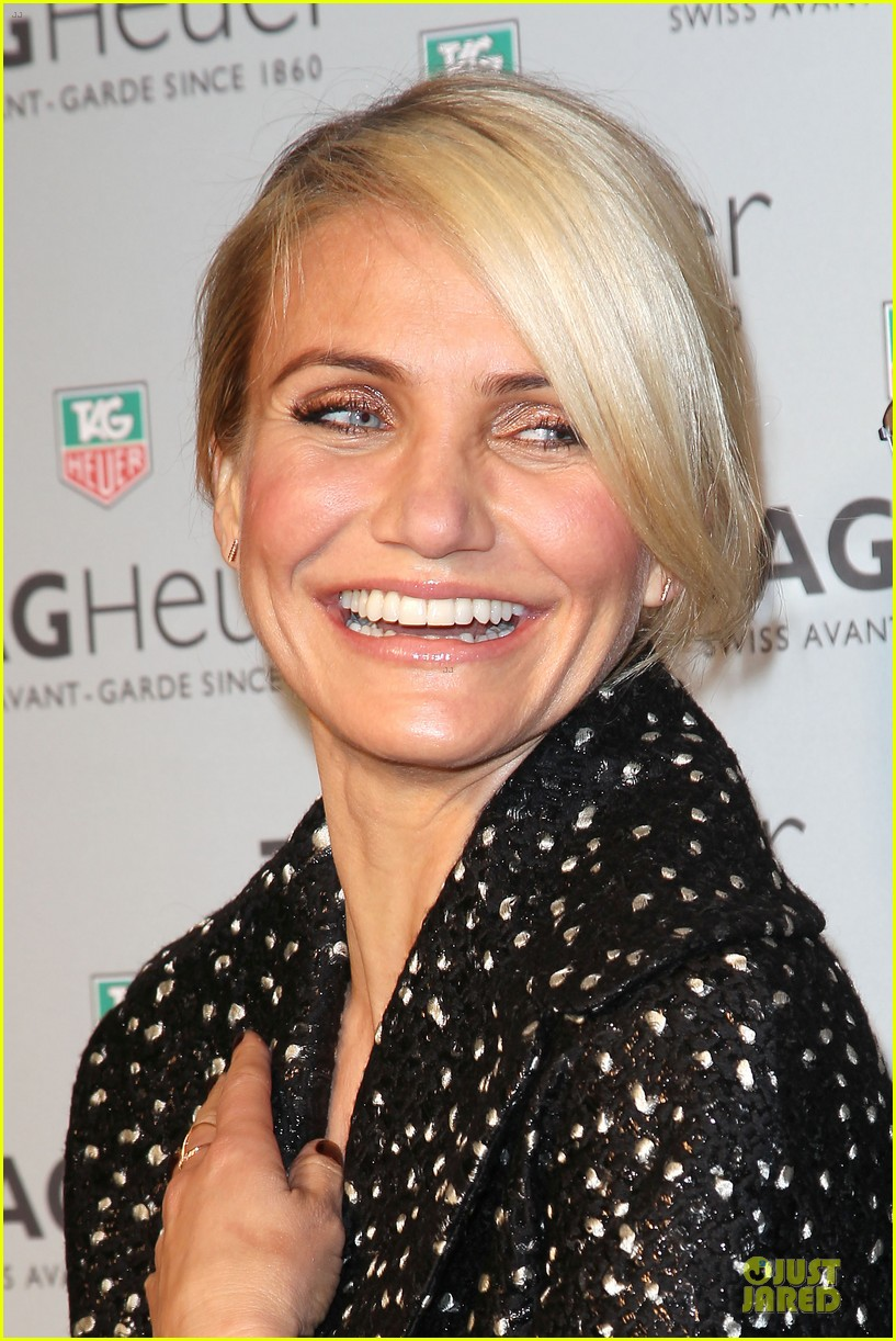 cameron diaz tag heuer ny flagship store opening 09