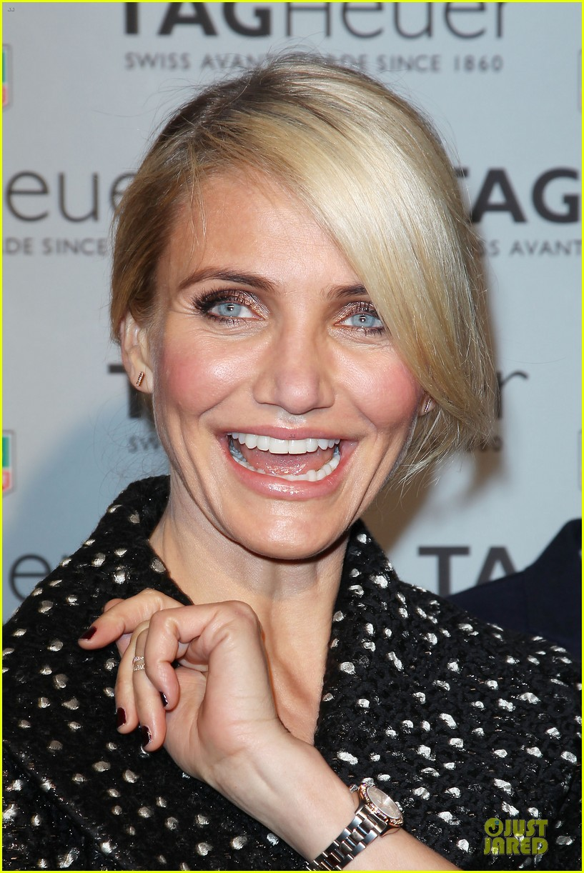 cameron diaz tag heuer ny flagship store opening 133043034