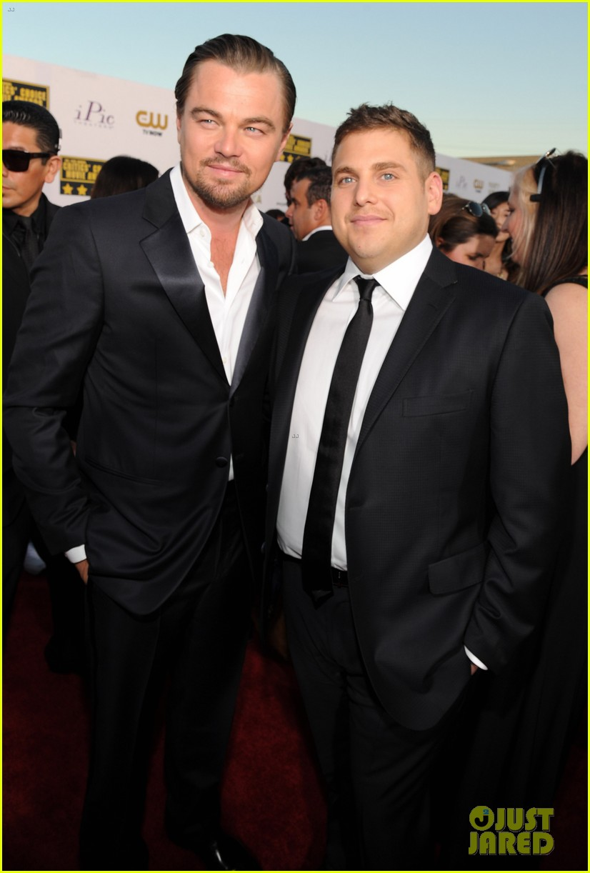 leonardo dicaprio jonah hill critics choice awards 2014 03