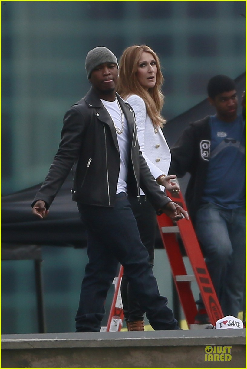celine dion ne yo incredible music video shoot 033040032