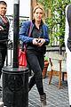 hilary duff solo cecconis lunch 11