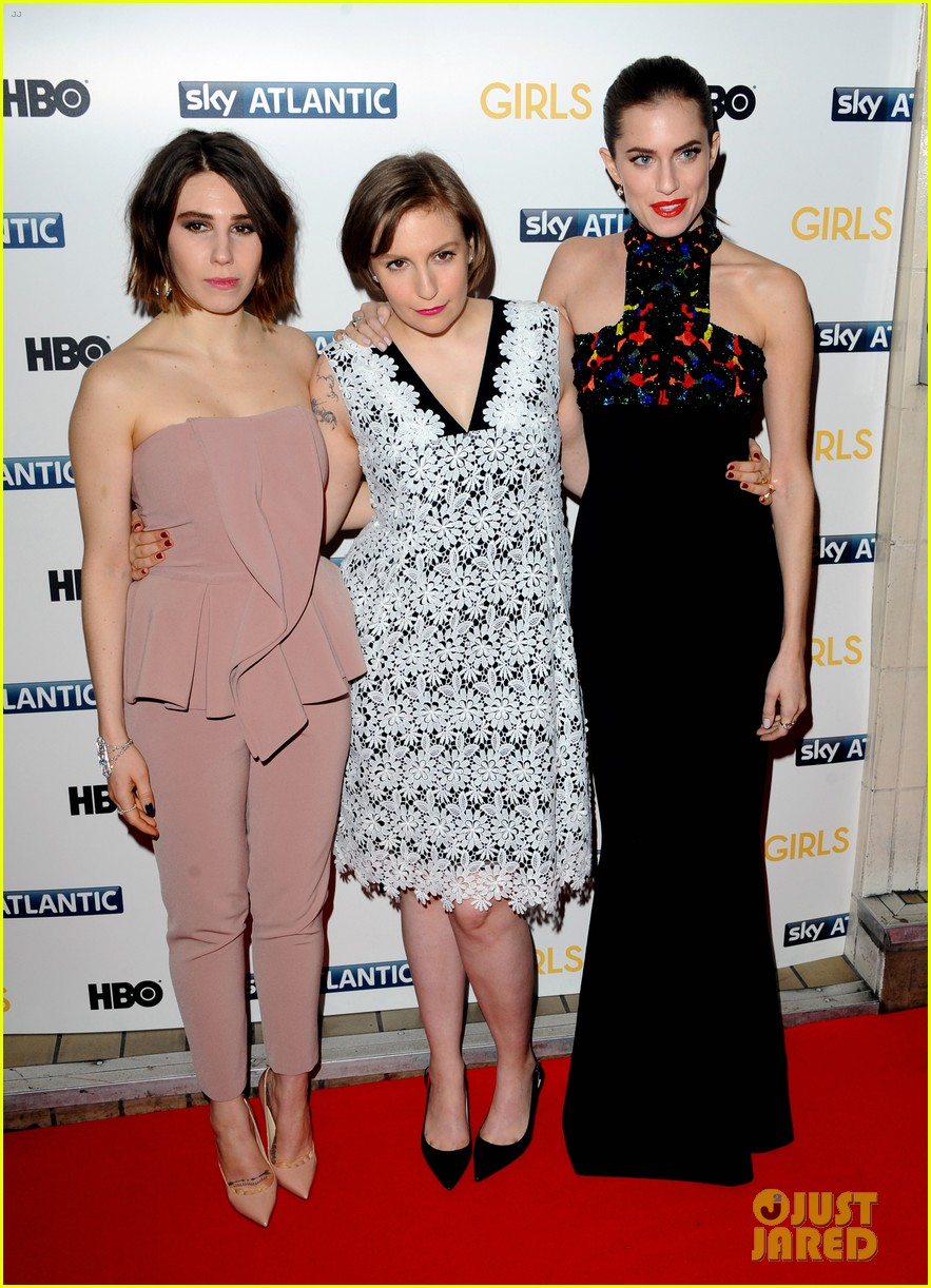 lena dunham allison williams girls season 3 uk premiere 13