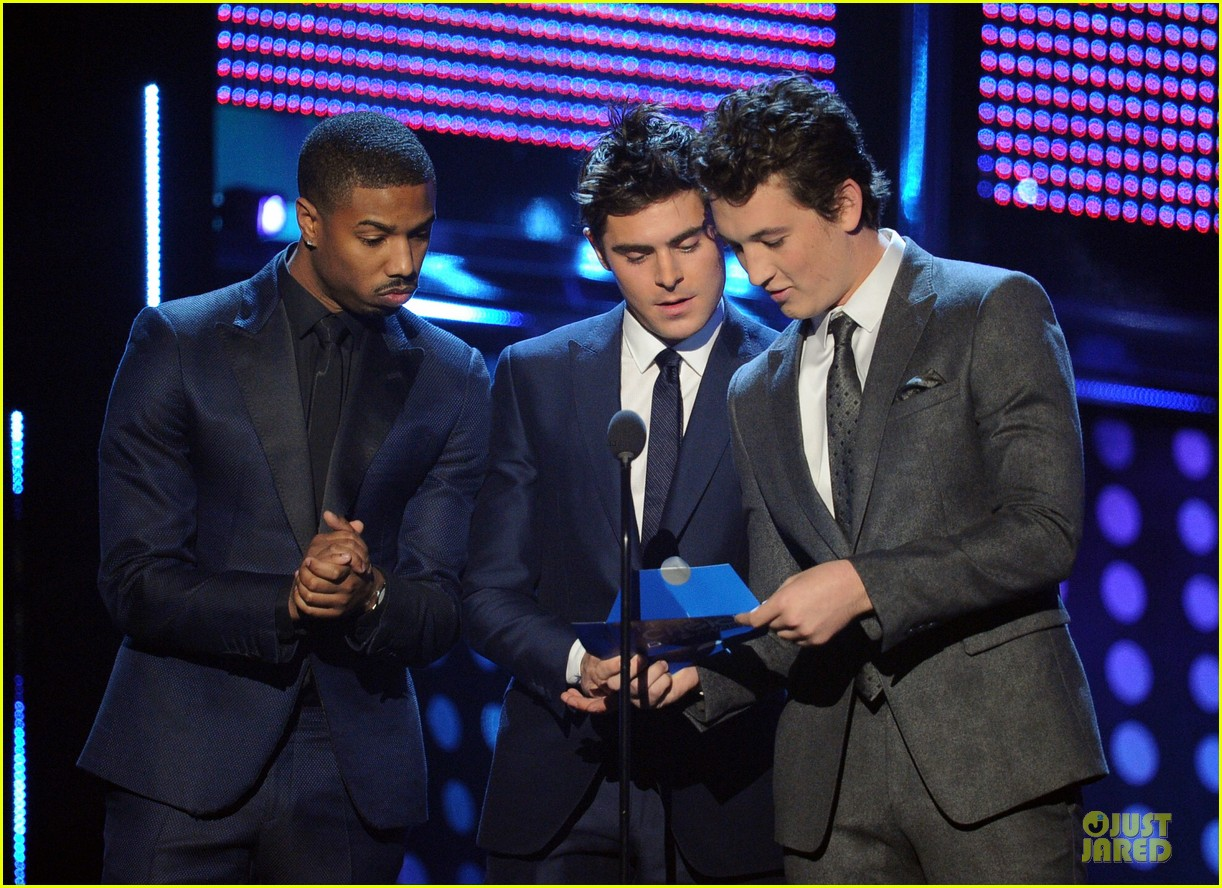 zac efron michael b jordan peoples choice awards 2014 043025714