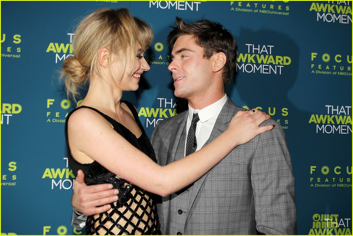 zac efron imogen poots that awkward moment premiere 04